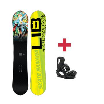 Pack Lib-Tech SK8 BANANA BTX paril snowboard 2018