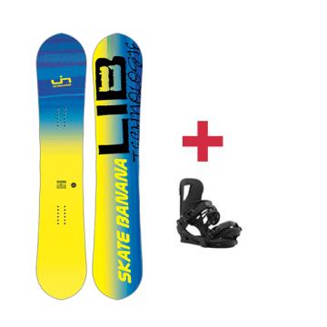 Pack Lib-Tech SK8 BANANA BTX snowboard 2018