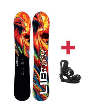 Pack Lib-Tech ATTACK BANANA HP C2E snowboard 2018