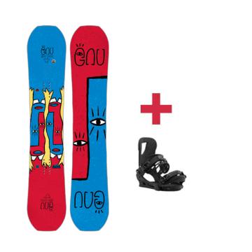 Pack GNU Asym FB HEAD SPACE C3 snowboard 2018