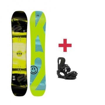 Pack K2 World Wide Weapon snowboard 2018