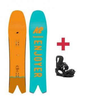 Pack K2 COOL BEAN snowboard 2018