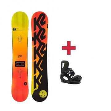 Pack K2 HAPPY HOUR snowboard 2018