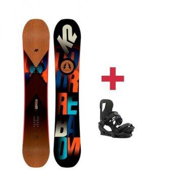 Pack K2 TURBO DREAM snowboard 2018