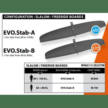Select Stabilisateur EVO B ProFoil F1 Windfoil 2018