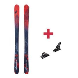 Pack Nordica ENFORCER 100 FLAT skis 2018 + fixations