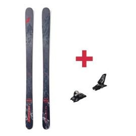 Pack Nordica ENFORCER 93 FLAT skis 2018 + fixations