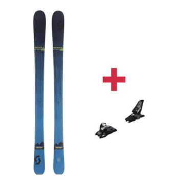 Pack Scott Slight 93 ski + fixations 2018