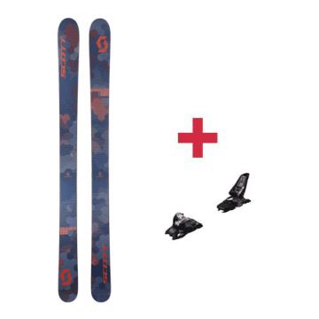 Pack Scott Scrapper 115 ski 2018 + fixations