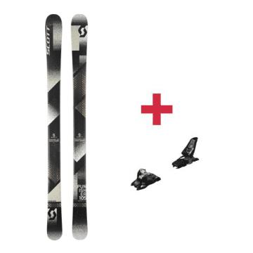 Pack Scott Punisher 105 ski 2018 + fixations