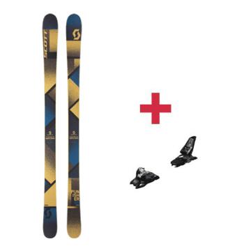 Pack Scott Punisher 95 ski 2018 + fixations