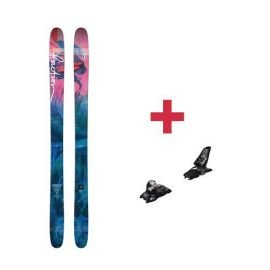 Pack Faction Heroine skis 2018 + fixations