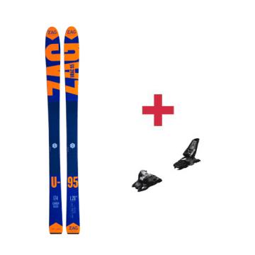Pack ZAG Ubac 95 ski 2018 + peaux Pomoca avec colle