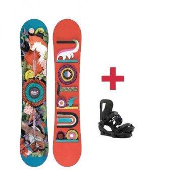 Pack Burton GENIE snowboard 2018 W