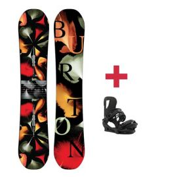 Pack Burton DEJA VU FLYING V snowboard 2018 W