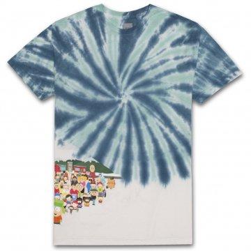 Huf X South Park Opening SS t-shirt bleu 2018