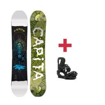 Pack CAPITA INDOOR SURVIVAL snowboard 2018