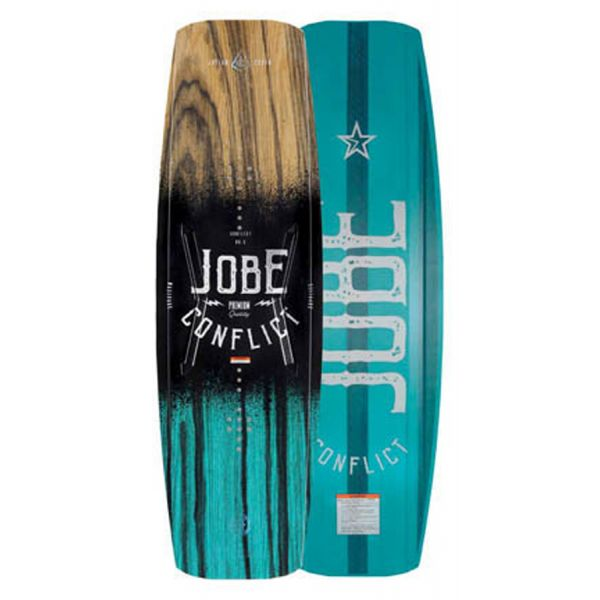 jobe conflict wakeboard hybride 2018 freeride attitude. Black Bedroom Furniture Sets. Home Design Ideas