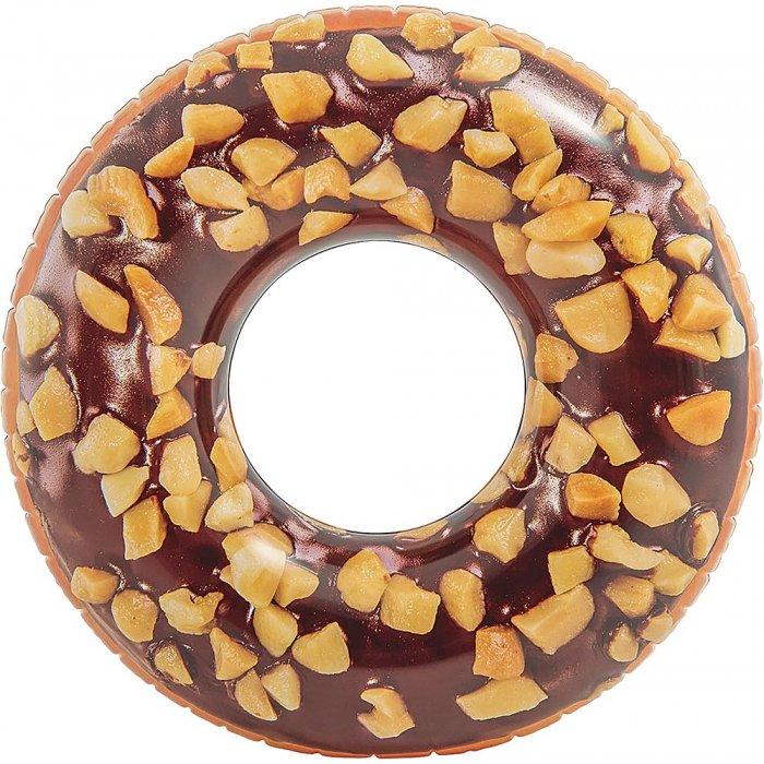 Ferry Bouée de plage Tube Donut choco noisette