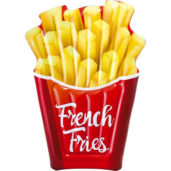 Ferry Matelas gonflable Cornet de Frites « french fries »