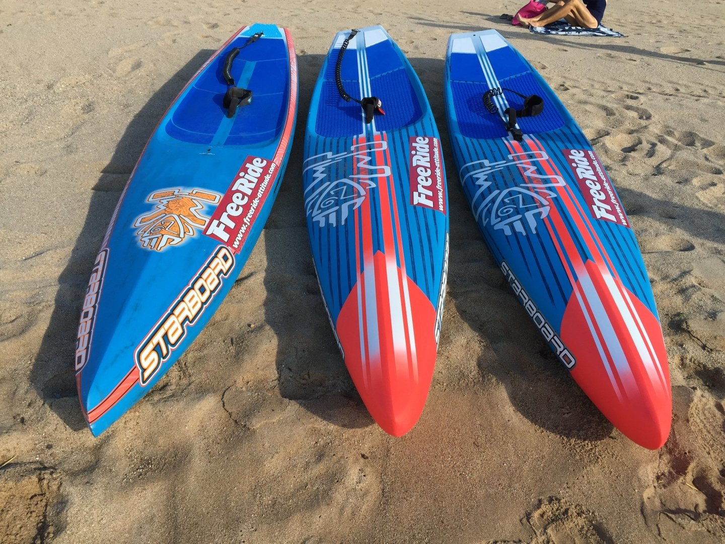 Test comparatif Starboard All Star 2016 vs 2015 12'6 stand up paddle race: