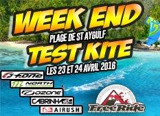 Week end Test Kitesurf 2016 les 23 et 24 avril Fréjus
