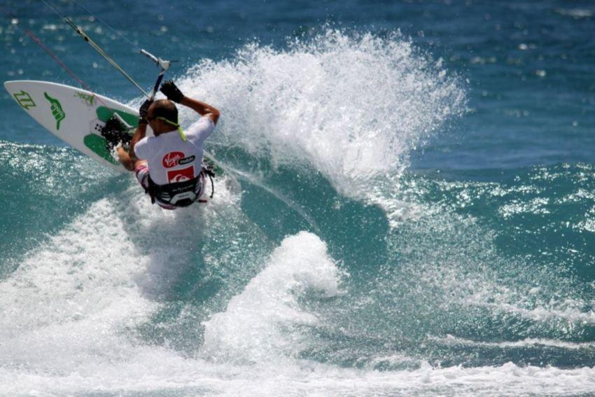 Kitesurf à la Réunion
