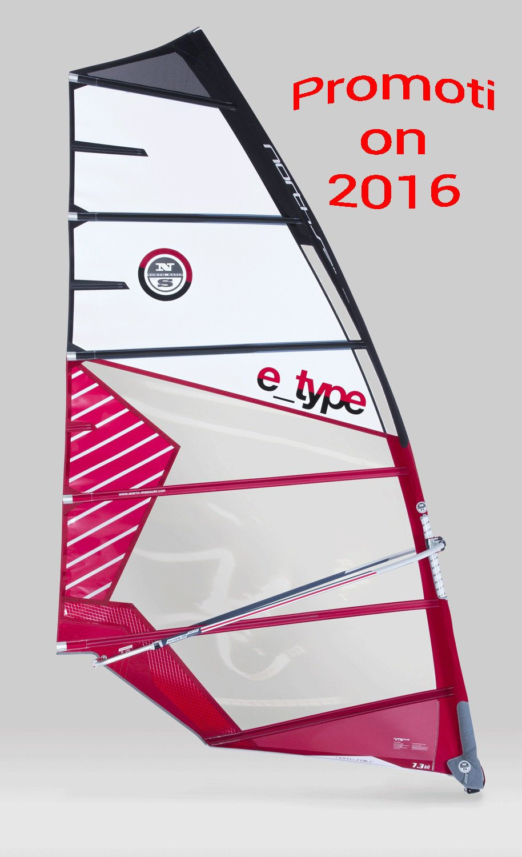 Promotion sur les voiles E-type Northsails
