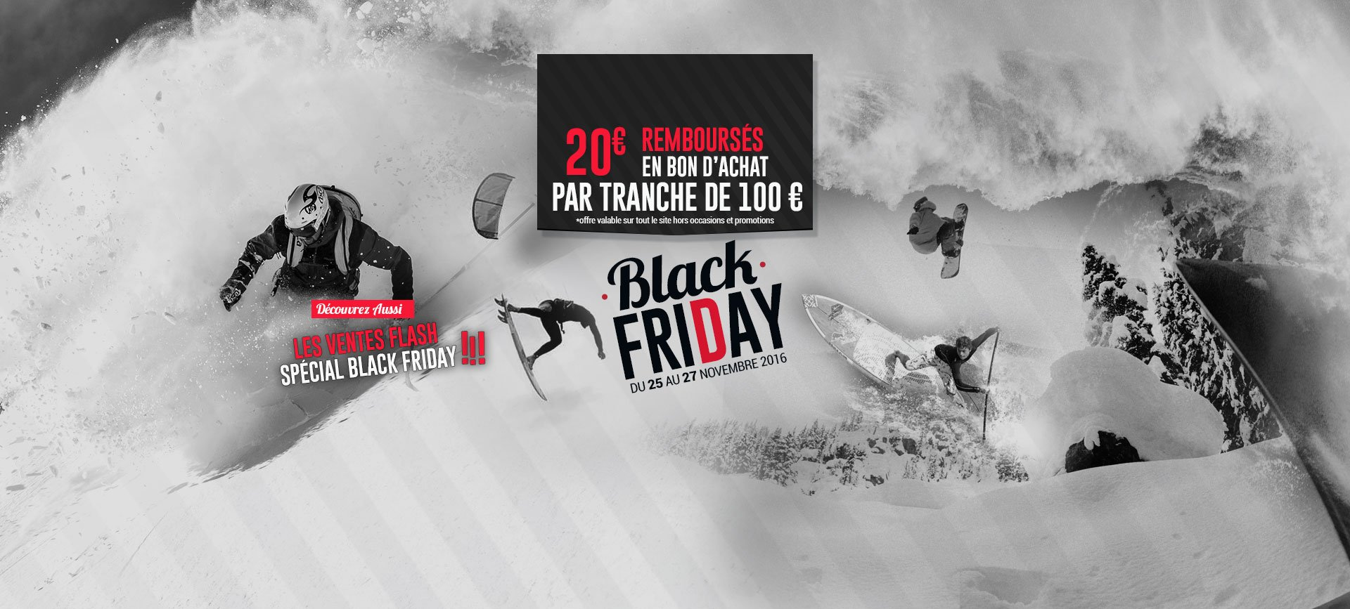 Black Friday 2016 chez Freeride-attitude