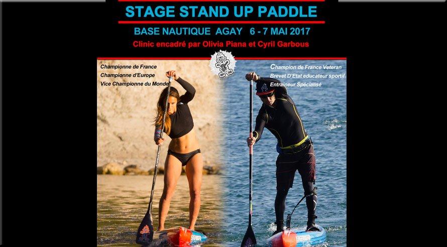 Stage de Stand Up Paddle avec Olivia Piana et Cyril Garbous les 6 et 7 mai � Agay