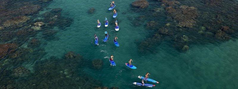 paddle SUP balade freeride