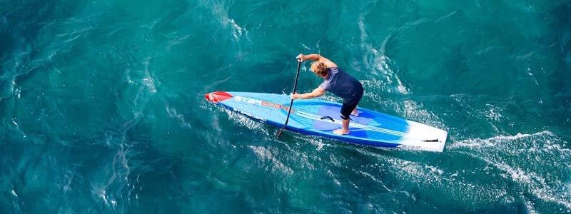 paddle SUP race vitesse freeride