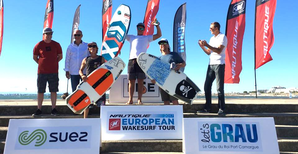 Julien Prudencio podium championnat du monde wakeboard 2017