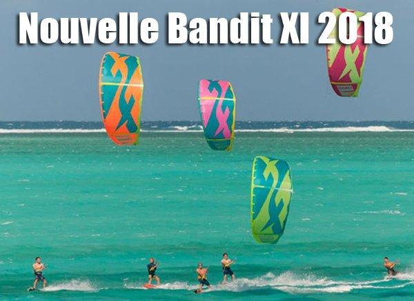 Nouvelle Bandit XI F-One 2018