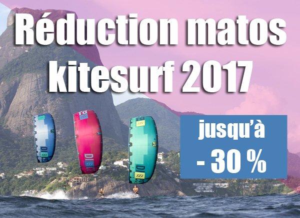Réduction sur le matos kitesurf 2017