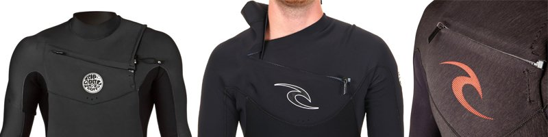 rip curl front zip chest zip combinaisons