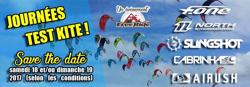 test kitesurf 2017 freeride-attitude saint aygulf