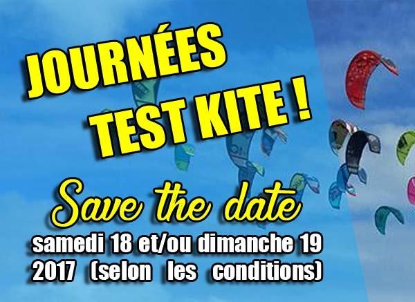 Journées test kitesurf à Fréjus : 18 et/ou 19 novembre 2017