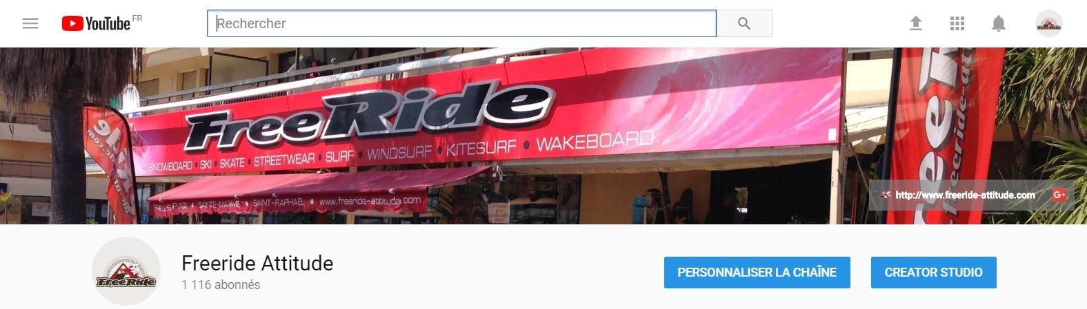 Chaine Youtube Freeride Attitude