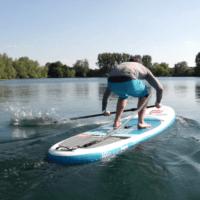 Red Paddle Co tuto l'appuie sur l'eau