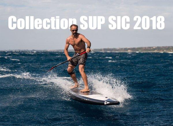 Nouvelle gamme de paddle SIC 2018