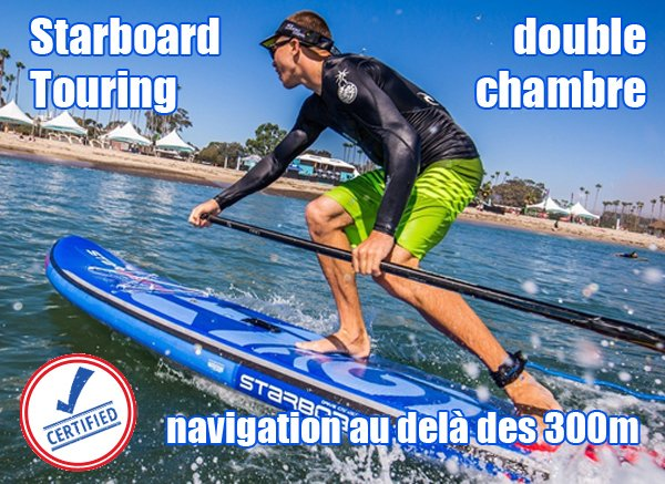 SUP Starboard Deluxe double chambre