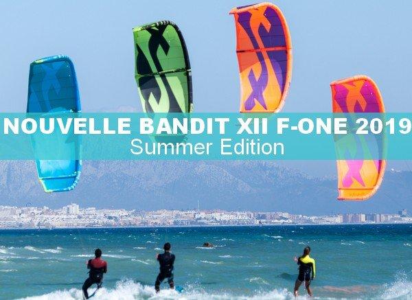 Nouvelle aile de kite Bandit XII F-One 2019
