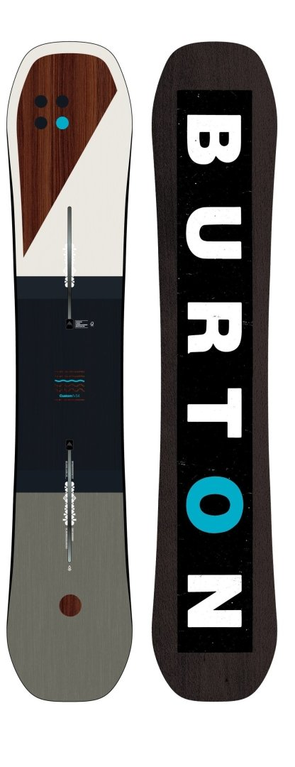 Burton CUSTOM FLYING V Planche de Snowboard 2019-1 154