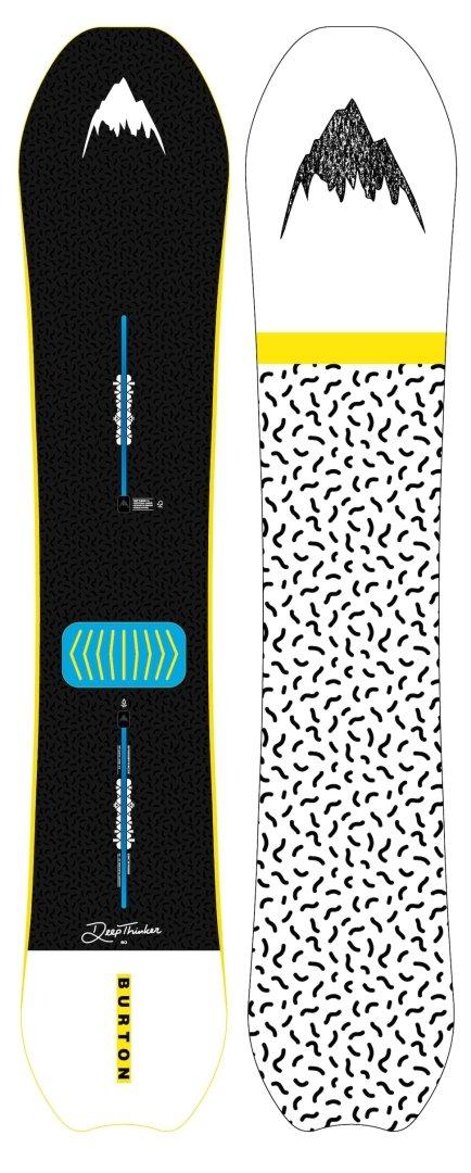 Burton DEEP THINKER Planche de Snowboard 2019-1