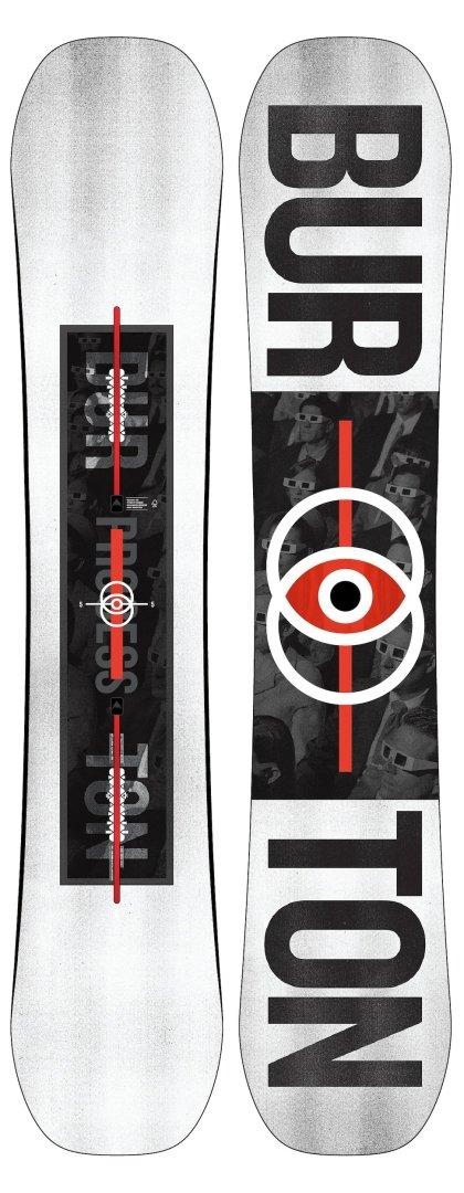 Burton PROCESS Planche de Snowboard 2019-1