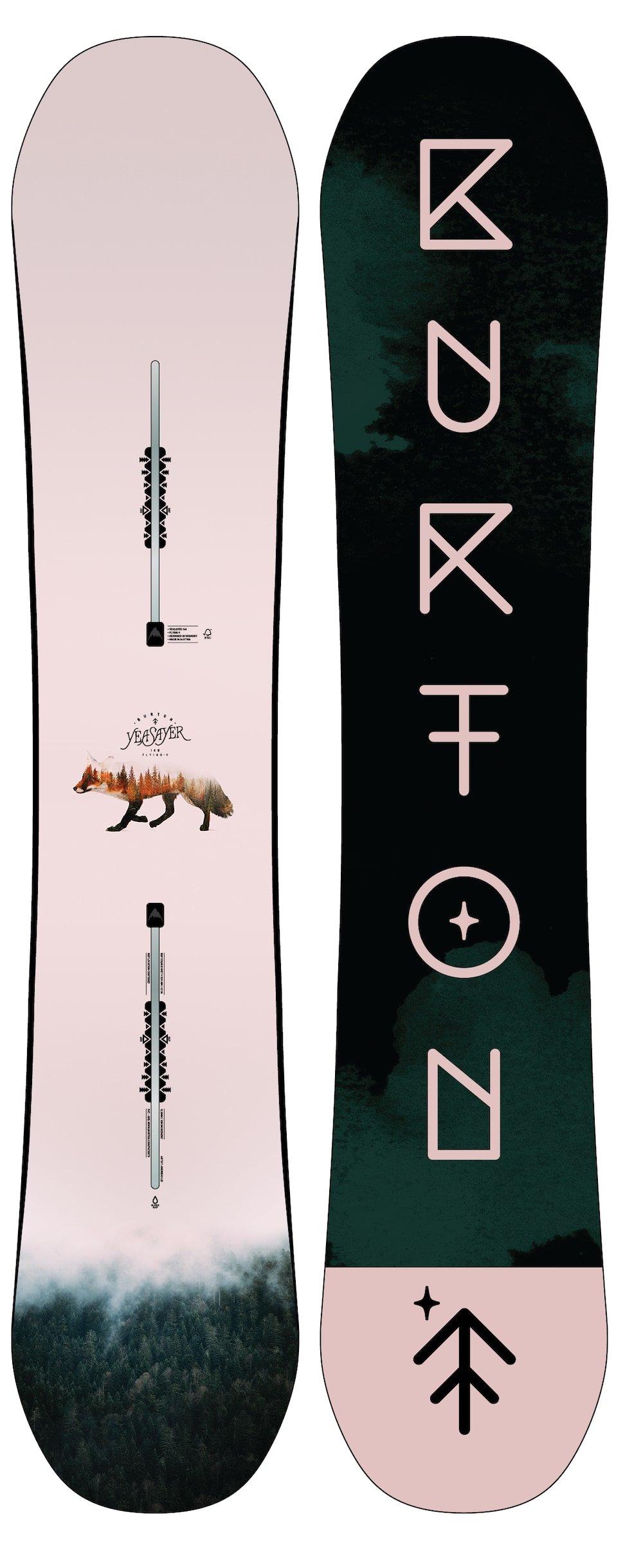 Burton YEASAYER FV Planche de Snowboard 2019-1