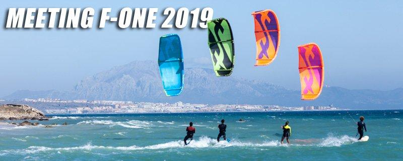 F-One meeting 2019 kitesurf bannière