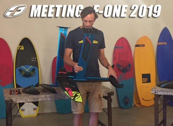 Meeting F-One 2019 : présentation des nouvelles collections