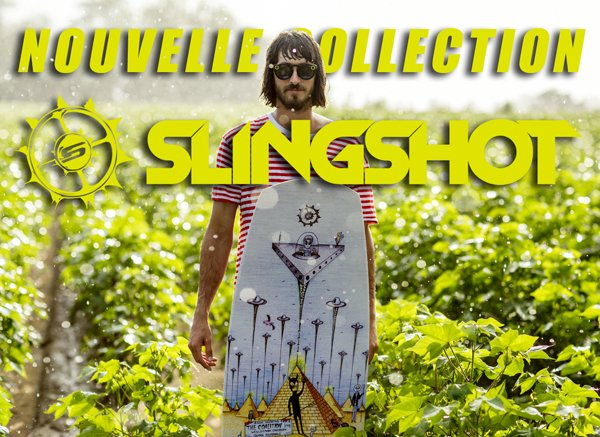 Slingshot wakeboard : nouvelle collection 2019